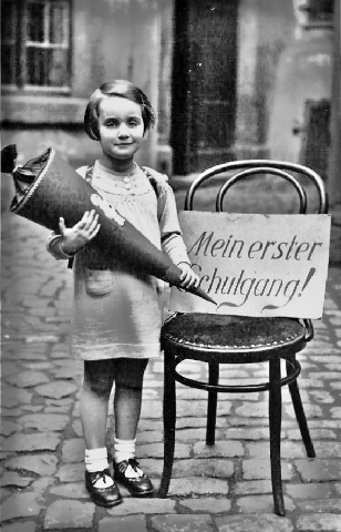 First Day of School, 1937